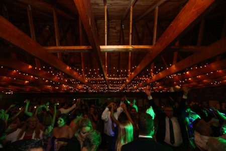 Dancing at Merepoint Yacht Club in Brunswick Maine during Ben and Grace's Wedding