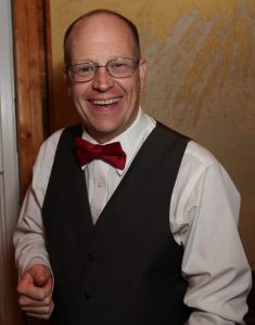 Maine Wedding DJ Mike Mahoney Smiling